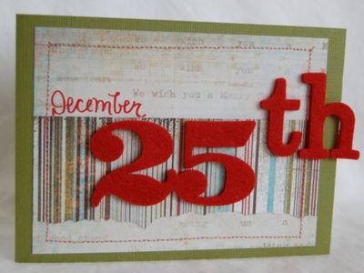 December 25th red