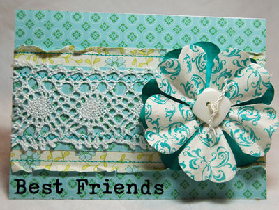 Best friends in lace