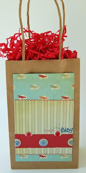 Forever my baby gift bag June09