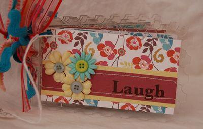 Laugh acrylic book
