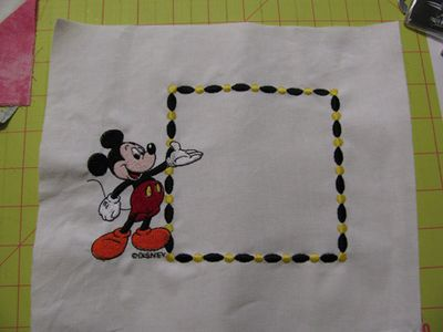 Mickey label