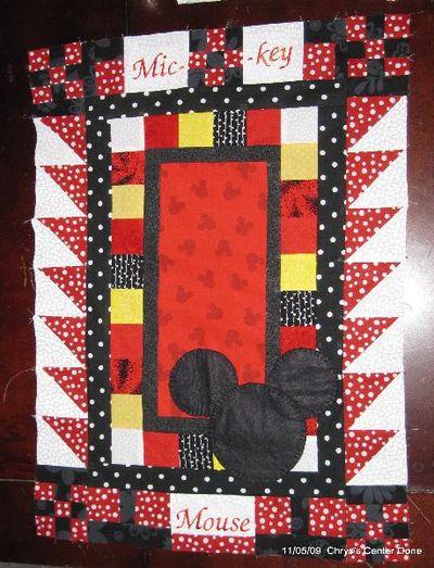 Mickey block step 2