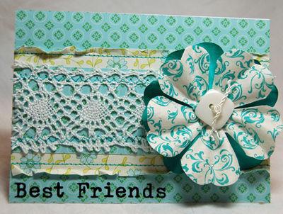 Best friends in lace