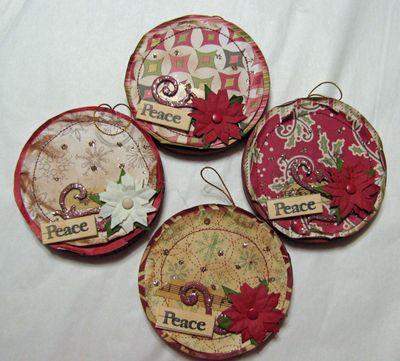 Peace 2009 ornaments