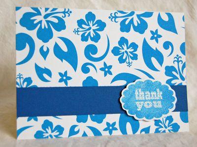 Hawaiian blue thank you Jan10