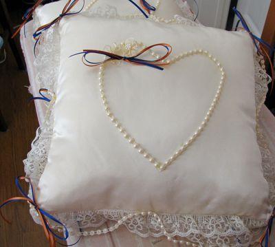 Katies wedding pillows July 10