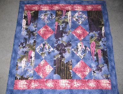 Wisteria quilt 2010