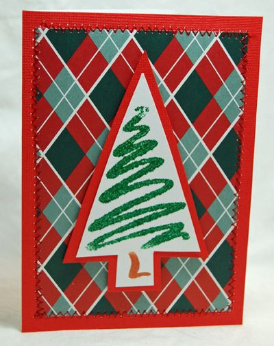 Squiggle christmas tree