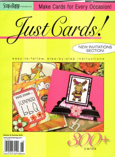 Just cards cover volume 18