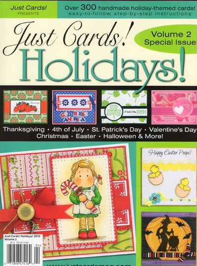 Just Cards! holidays vol 2 cover