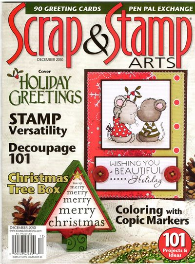 Scrap and Stamp Dec 10 cover