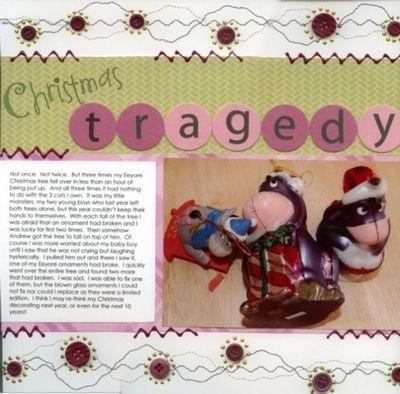 Christmas tragedy
