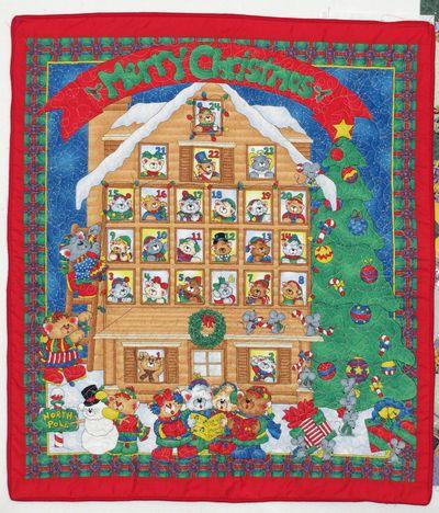 Merry christmas kitties advent calendar