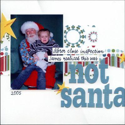 Not santa 1