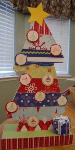 Paper salon christmas tree