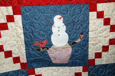 Snowbound quilted 2