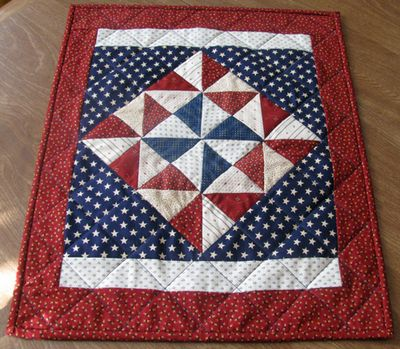 Lizzy patrotic quilt