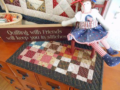 Grandmas's mini quilt