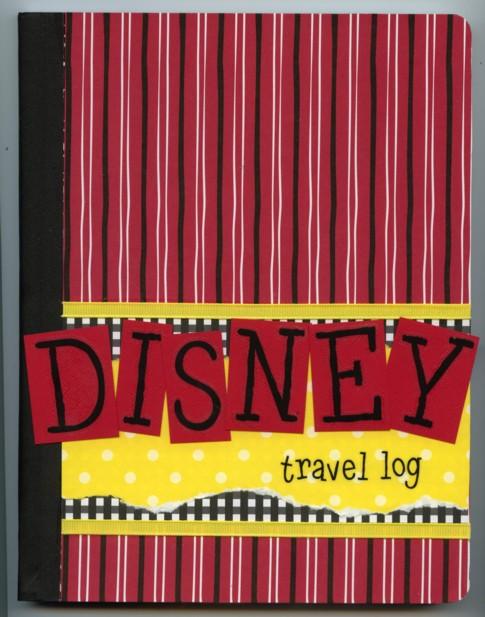 Disney travel log book 1