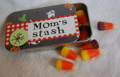 Moms candy stash tin