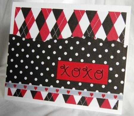 XOXO boxer card