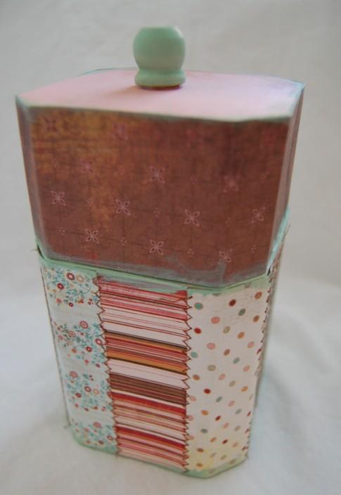 Stitched box