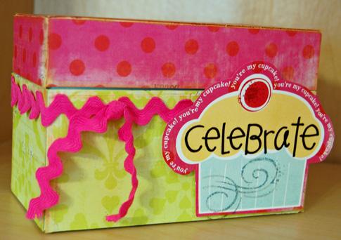 Celebrate card box