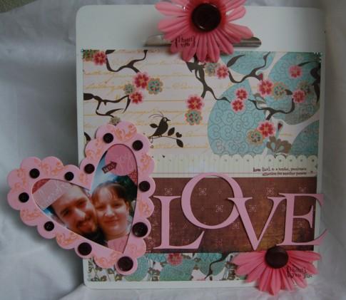 Love clipboard