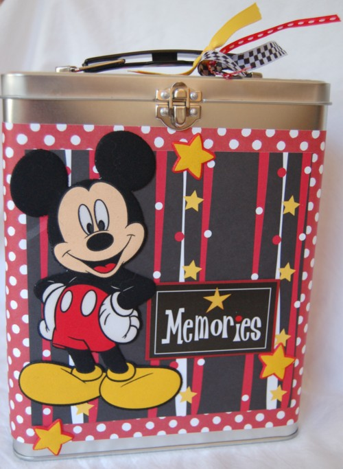Mickey memories tin