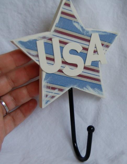 USA towel hook