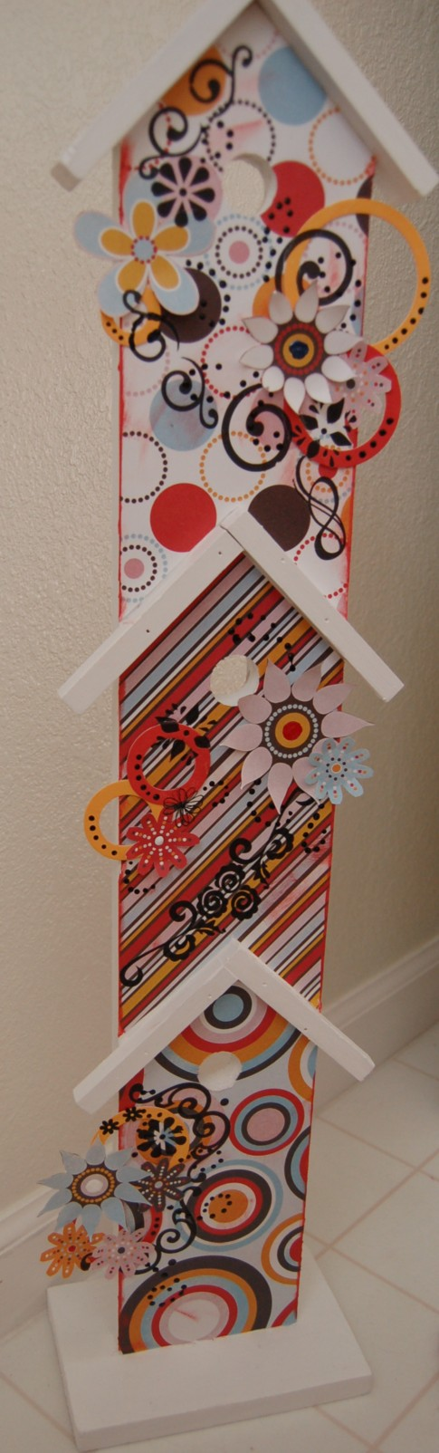 Close up of Gin-X birdhouse