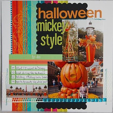 Halloween mickey style