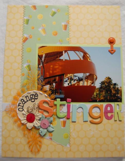 Orange stinger