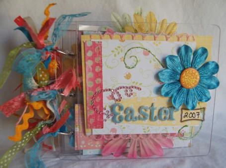 Easter 2007 acrylic book