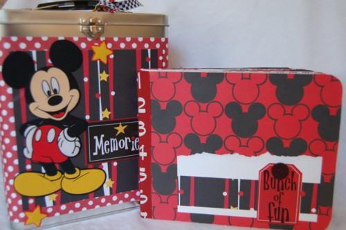 Mickey Memories tin and album