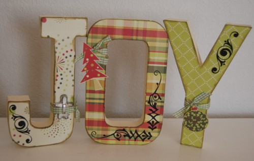 Joy altered letters