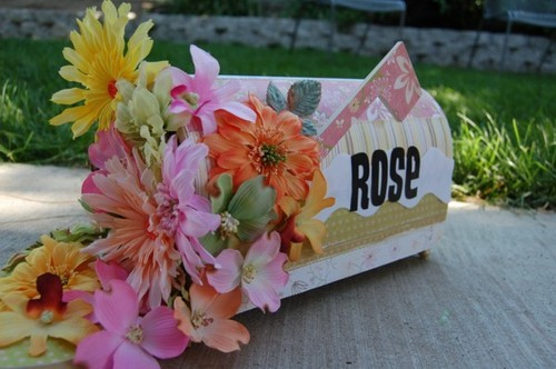 Rose Mailbox