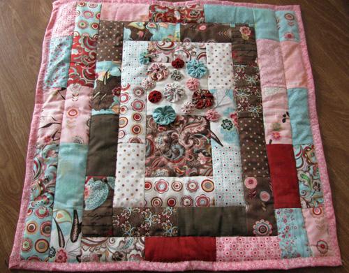 Basic grey valentine quilt