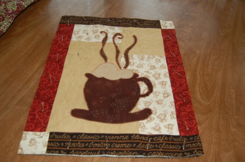 Coffee quilt 1
