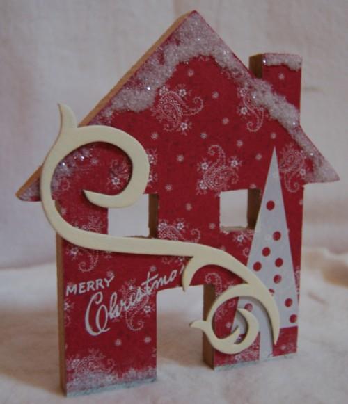 Medium red house siwl